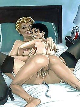 Mature saggy tits